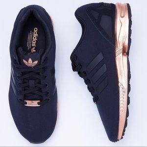 Adidas Torsion ZX Flux Black Copper Metallic